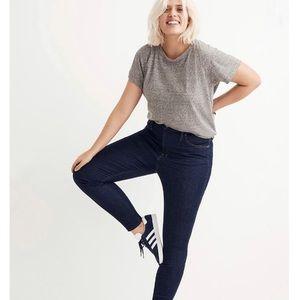 "Madewell 10"" High Rise Skinny Jeans 31"
